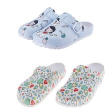 EVA laboratory doctor clogs Non-slip Nurse Clogs Shoes dentist Work slippers women nurse slippers Cute Cartoon Shoes