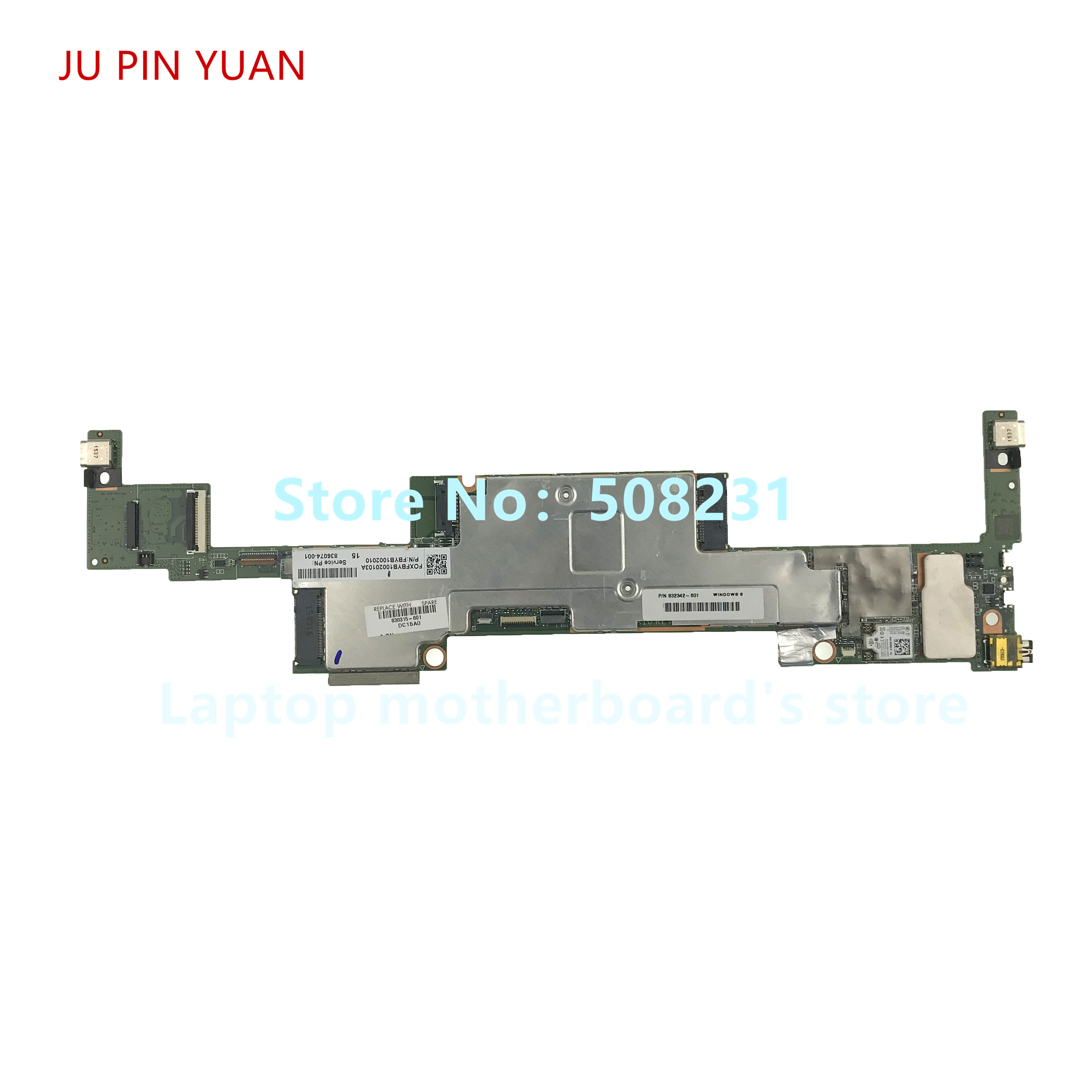 JU PIN YUAN 830315-501 830315-601 830317-001 for HP Spectre x2 Detachable 12-a laptop motherboard M5-6Y54 8GB 100% fully Tested image