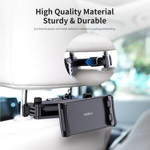 Image 4 - ROCK Auto Telefon Halter Halterung für iPad Mini Pro Tabletten Handys Hinten Meer Stehen Kissen Halter Ständer Halter für iPhone держател