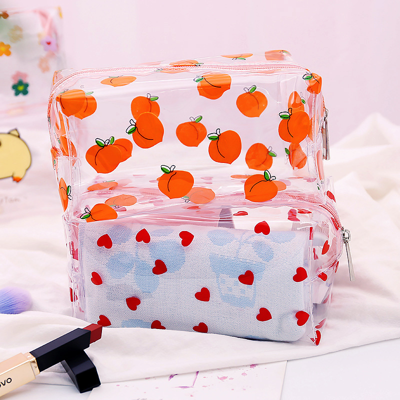 LoveFrom 1pcs/lot Kawaii Pencil Case Portable Ins Wind Simple Girl Cute Stationery Storage Bag Stationery Office School Supply