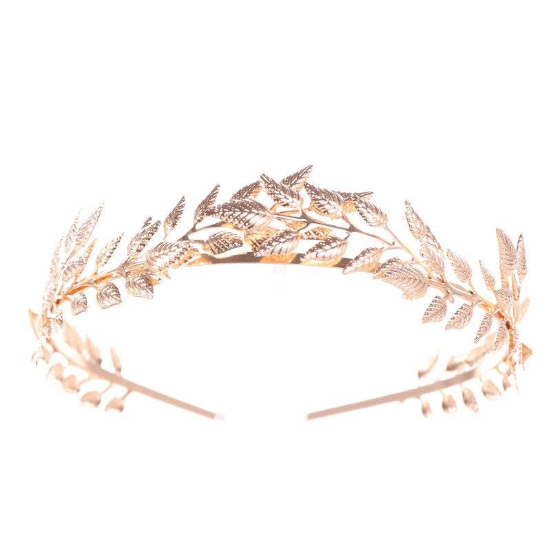 Roman Bride Wedding Hair Accessories Women Bridal Head Jewelry Headband Headpiece Tiaras Crowns Jewellry