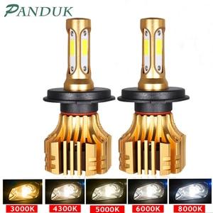 Image 1 - PANDUK LED פנס 16000LM 4300K 6000K 9005 H1 880 H4 Led H3 H7 LED H11 Led 3000K 9006 HB3 HB4 הנורה סופר מואר רכב אור 12V