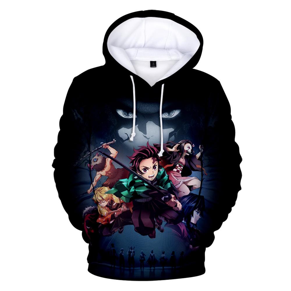 Demon Slayer: Kimetsu No Yaiba 3D Hoodie In Men/women Sweatshirts Long Sleeve Autumn Winter Warm Popular Anime Youth 3D Clothes