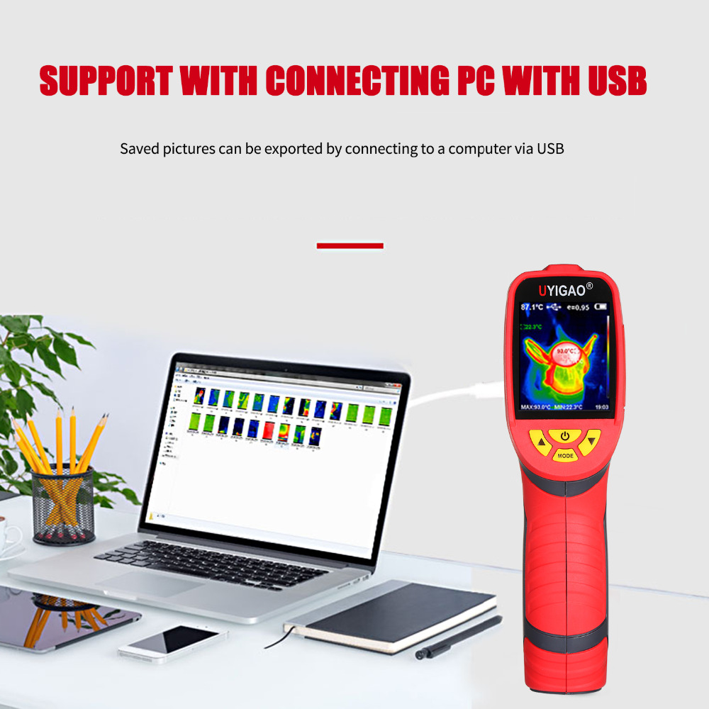 Digital Mini Infrared Thermal Camera Made With ABS Material For Measuring Tools 14
