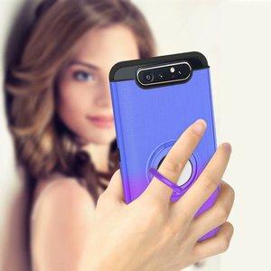 Image 5 - 360 ° rotating caso anel Para Samsung Galaxy A20 A30 A40 A50 A505 A30S A50S A70 A80 A90 A10s 2 em 1 caso de telefone à prova de choque