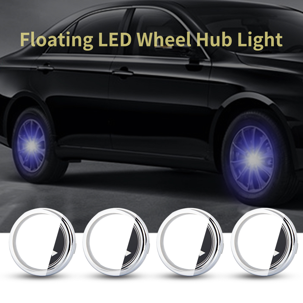 For <font><b>Skoda</b></font> 56mm <font><b>Hub</b></font> Light <font><b>Car</b></font> Floating Illumination Energy <font><b>Wheel</b></font> <font><b>Caps</b></font> LED Light <font><b>Wheel</b></font> <font><b>Center</b></font> <font><b>Cap</b></font> <font><b>Center</b></font> Cover Lighting <font><b>Cap</b></font> Auto image