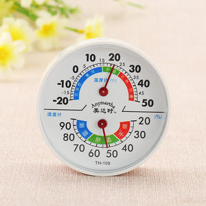 Pointer Thermometer Hygrometer Wall-Mounted Industrial-109 Home-Room Household for Kitchen