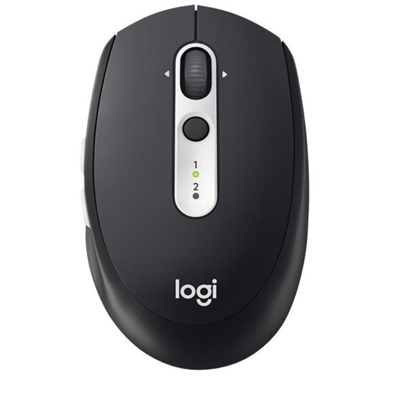 Logitech M585 wireless Bluetooth mouse dual mode connection office business notebook home flow technology M585 gray and black