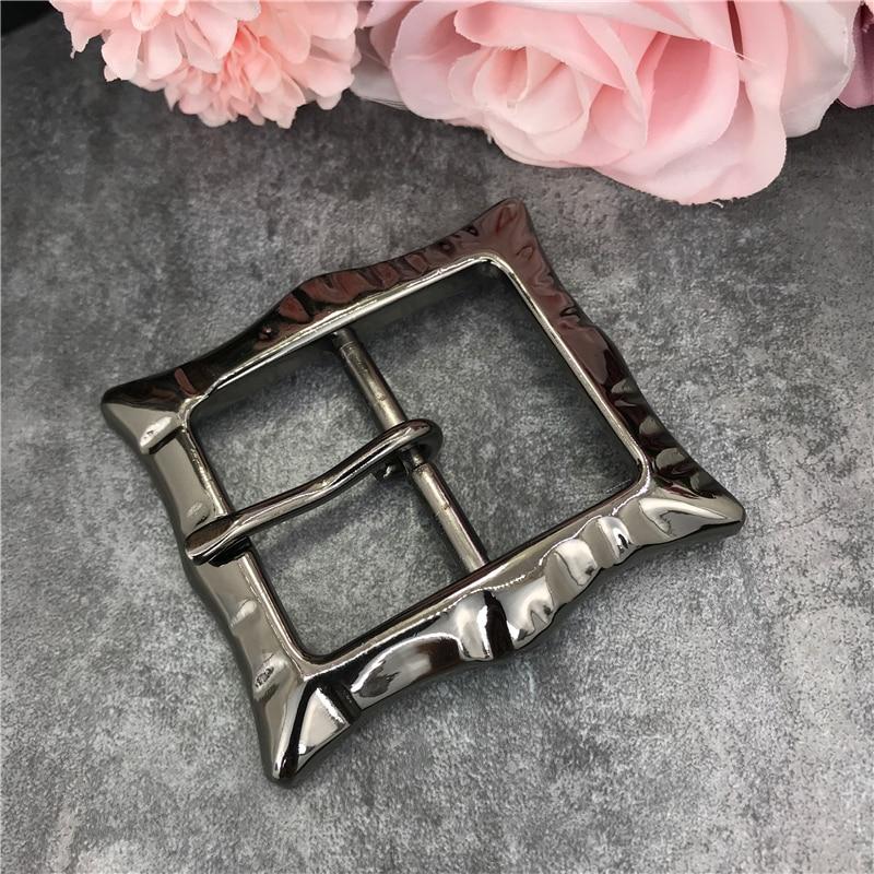 2PCS Quality 4.0MM Alloy Pin Metal Belt Buckles For Men Cowboy Belt Buckle For Belt  Leather Belt Men Jeans Accessories AK0088