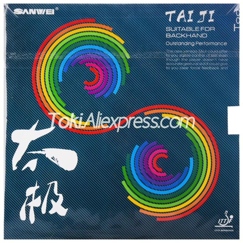 SANWEI TAIJI Light (TAICHI, T88-TAIJI, Backhand) T88 SANWEI Table Tennis Rubber SANWEI Ping Pong Sponge