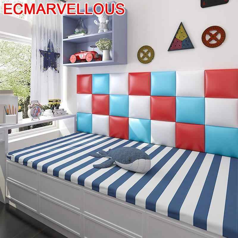 Testata Letto Tete מואר Chambre A Coucher ילדי ריהוט ילד 3D קיר מדבקת דה Pared Cabecero Cama מיטת Cabeceira ראש המיטה