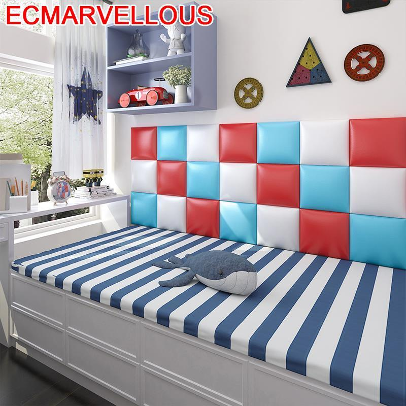 Testata Letto Tete Lit Chambre A Coucher Children Furniture Kid 3D Wall Sticker De Pared Cabecero Cama Bed Cabeceira Headboard