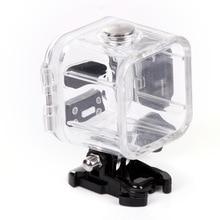 GoPro Actino kamera oturumu için su geçirmez kabuk durumda Hero 4 5 oturumu sualtı konut kutusu GoPro spor aksesuarları
