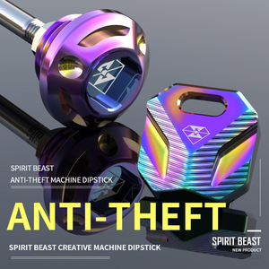 Varilla de aceite para motocicleta Spirit Beast, calibre antirrobo para Benelli LEONCINO TNT300 250 600 TRK502 Honda CB190 Yamaha Suzuki GSX