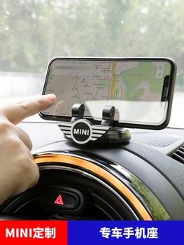 Soporte de teléfono de coche de alta calidad, adhesivo para móvil creativo, soporte de navegación General para BMW Mini Cooper, utilidades de coche