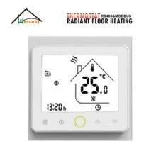цена на HESSWAY NC/NO Electric actuator control RS485&MODBUS THERMOSTAT with Radiant Floor Heating