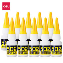 3 pçs de secagem rápida instantânea cianoacrilato adesivo forte ligação rápida couro borracha metal 8g material de escritório 502 super cola