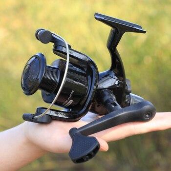 Amazing Sougayilang l 5.1:1 Spinning Fishing Reel for Carps Fishing Reels cb5feb1b7314637725a2e7: Black|Silver