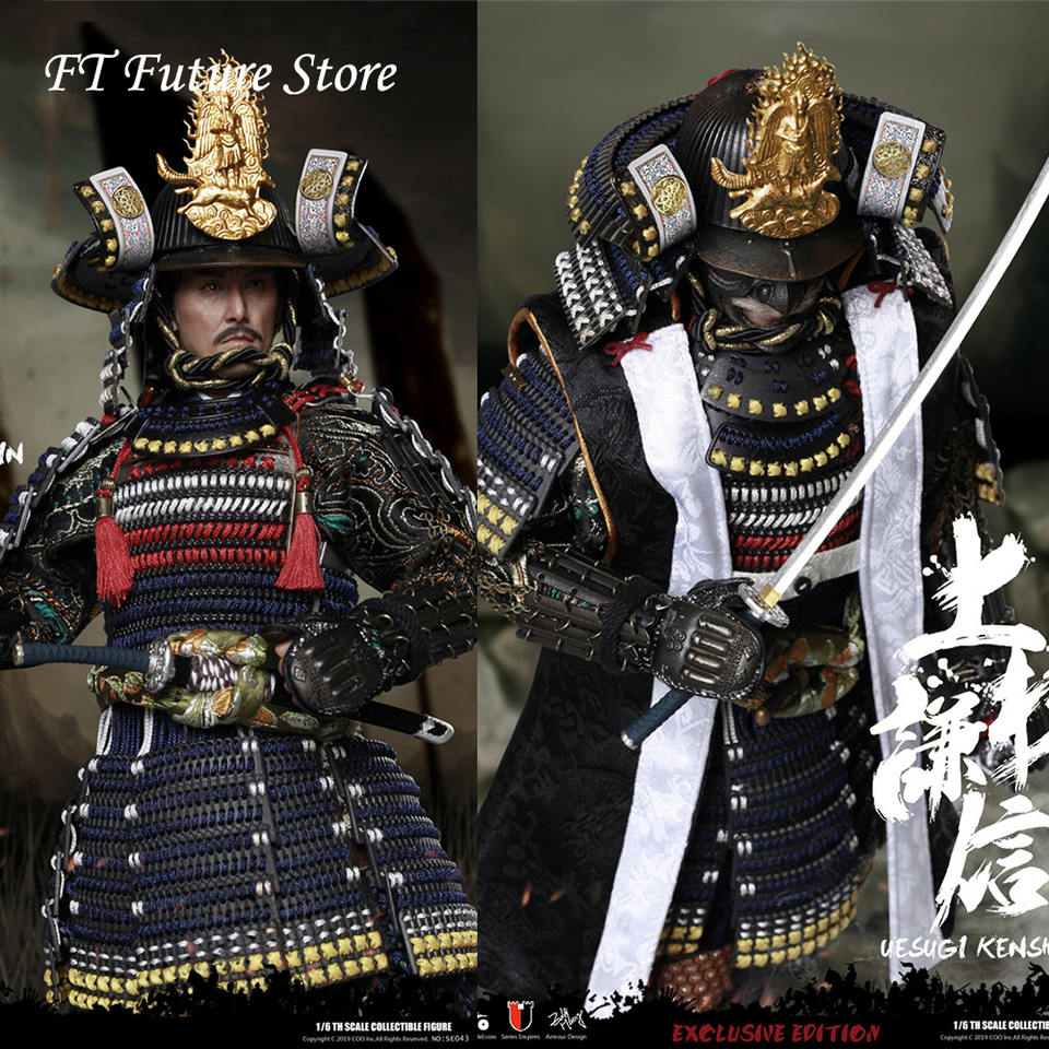 In Stock Se043 Se044 1 6 Japanese Military Commander Diecast Armor Uesugi Kenshin The Dragon Of Echigo Standard Deluxe Ver Action Toy Figures Aliexpress Comes with real wood display base, backdrop, armor box and display stand. in stock se043 se044 1 6 japanese military commander diecast armor uesugi kenshin the dragon of echigo standard deluxe ver