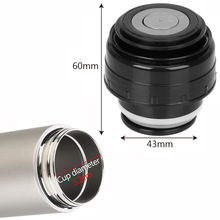 Thermos-Cover Outlet Travel Cup Vacuum-Flask-Lid Bullet Stainless Mug Outdoor
