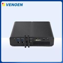 VENOEN computadora de juegos Intel Core i7 7820HK i7-7920HQ GeForce GTX 1650 4G Windows Linux HDMI DVI M2 3 pantalla MINI pc