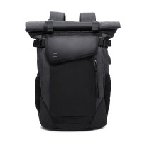 Backpack TANGCOOL TC708 Laptop Backpack Raincoat Male Bag USB Recharging Multi layer Space Travel Male Bag Anti thief Mochila Laptop Backpacks School Fashion Travel Male Mochilas Feminina Casual Women Schoolbag