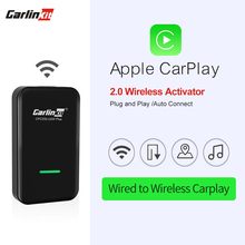 Carlinkit-activador de CarPlay inalámbrico 2,0, conexión automática para Audi Benz, Wolkswagen, Mazda, con cable a Carplay inalámbrico, Plug And Play
