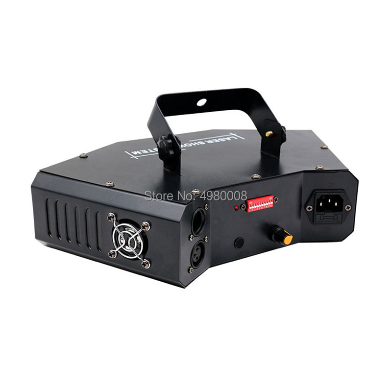 4 Lens Scan Laser Light RGB Full Color Lines Beam With Pattern Laser Home Party DJ Great Effects Stage Light DMX Scan Projector - 5