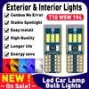 W5W T10 Led Canbus 2821 żarówki na samochody Auto motoryzacja towarów lampa diodowa otoczenia wewnętrzna lampka dla Skoda Octavia 2 3 a5 a7 Kodiaq
