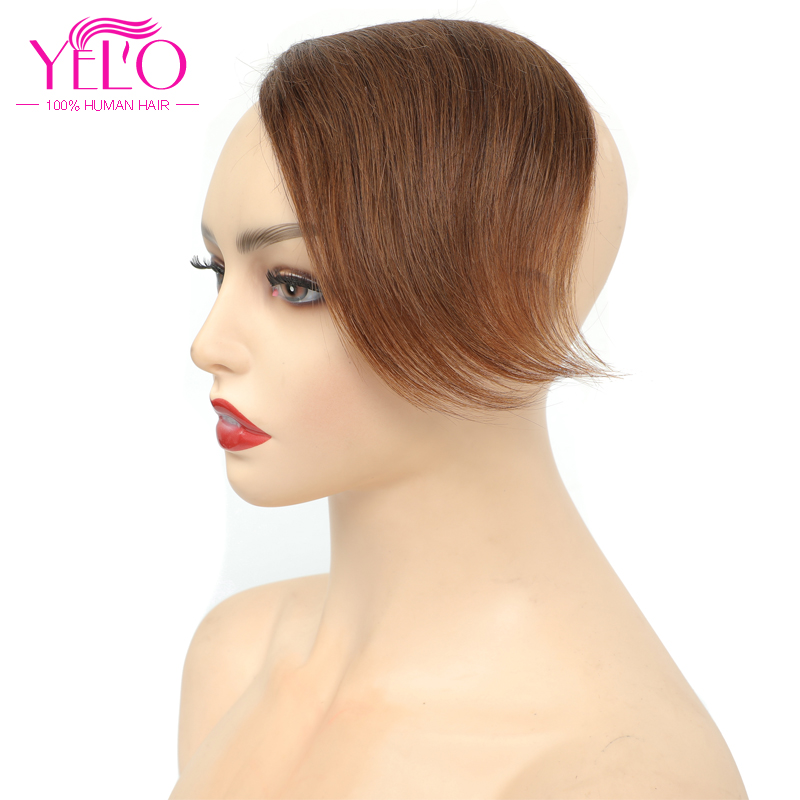 Yelo brasileiro em linha reta cabelo humano