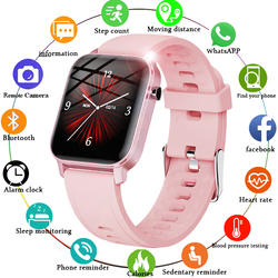 LIGE 2020 New Color Screen Smart Watch Women men Multifunctional Sport Heart Rate Blood Pressure IP68 Waterproof Smartwatch+Box