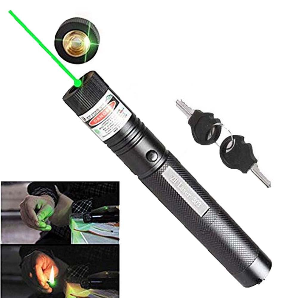 Blue Laser Pointer 5MW High Power Red Green Laser Sight Pen Powerful Hunting Laser 303 Meter Green Lazer Burning Match