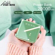 PINZHENG 20000mAh Mini Power Bank For Xiaomi Mi iPhone 11 Pr