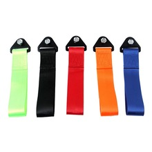 1PCS Universal Towing Rope High Strength Nylon Trailer Tow Ropes Racing Car Tow Eye Strap Tow Strap Bumper Trailer Car Refitting