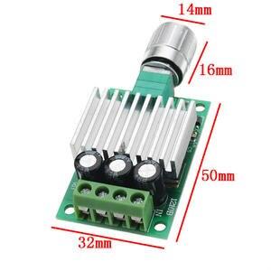 Image 3 - تيار مستمر 12 فولت إلى 24 فولت 10A عالية الطاقة PWM وحدة تحكم في سرعة محرك التيار المستمر تنظيم سرعة درجة الحرارة و يعتم سرعة تنظيم لوحة صغيرة
