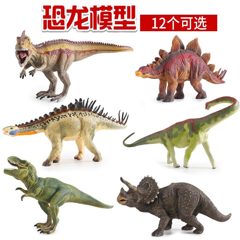 Jurassic Children Hollow Emulate Toy Large Size T-Rex Plastic Dinosaur Model 12-Selectable In Bulk