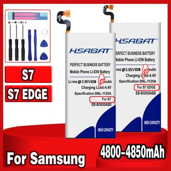 4850mAh EB-BG935ABE EB-BG930ABE bateria do samsunga GALAXY S7 S7 krawędzi G9350 G935F G935 G935FD G935W8 G9300 G930L G930 G930F tanie i dobre opinie HSABAT 3501 mAh-5000 mAh Kompatybilny ROHS