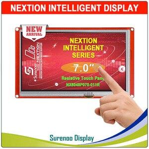 """Image 2 - 7.0 """"NX8048P070 Nextion Thông Minh Màn Hình HMI USART UART Nối Tiếp TFT LCD Module Hiển Thị Điện Trở Hoặc Cảm Ứng Điện Dung Bảng Điều Khiển Cho Arduino"""