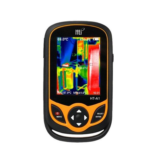 Detector de imágenes infrarrojas térmicas para cámara de HT A2 2020 Pantalla TFT herramientas de medición de medidor de temperatura 100 240V 640*480 HT A1