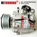 TRSE09 AC Compressor For HONDA CR-V Mk III 2.0i 2006 2007 2008 38800RZVG01 38810RZVG01 3800RZVG020M2 38810RZVG02 3766 3788 3757