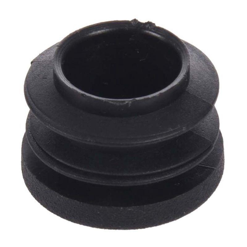 New-15pcs Black 19mm Dia Round Plastic Blanking End Cap Tubing Tube Insert