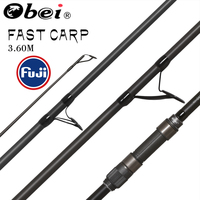 obei purista carp fishing rod Carbon Fiber Fuji Spinning Rod pesca 3.5 3.0lb power 40 160g 3.60m Hard Pole Surf Rod