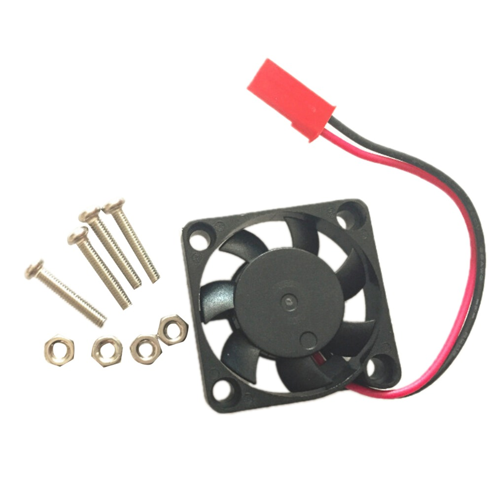 2PIN power connector 0.2A Current Silent Cooling Fan Raspberry Pi 3 Cooling Fan 3.3/5V Multifunction for Orange Pi CPU