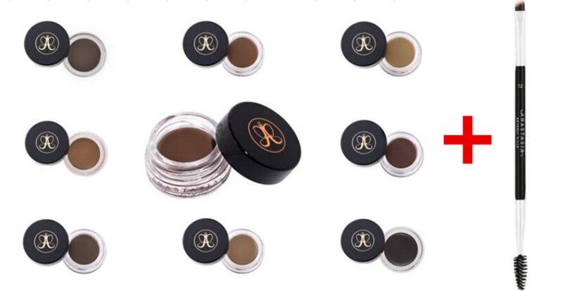 Anastasia Beverlying Hills Anastasia Makeup Powder Glow Kit Contour Highlighter Palette Face Powder Blusher Eyebrow Cream Brush
