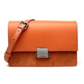 2020 Fashion Famous Brand Small Shoulder Bags Multifunction Crossbody Bag Women Genuine Leather Ladies  Messenger Bag