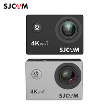 "Neueste SJCAM SJ4000 AIR Action Kamera Full HD Allwinner 4K 30FPS WIFI 2.0 ""Bildschirm Mini Helm Auto DV kamera Wasserdicht Sport Cam(China)"