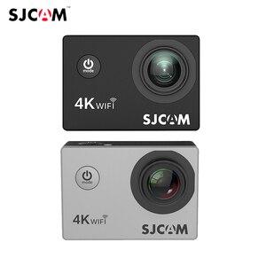 Original SJCAM SJ4000 AIR Action Camera Full HD Allwinner 4K 30FPS WIFI 2.0' Screen Waterproof Sports Mini Helmet Car DV Camera