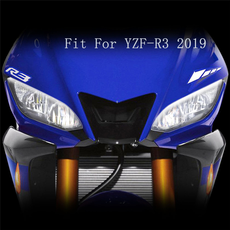 KODASKIN Meters Shied Screen Headlight Screen Lens Headlight  Protection  Fit For YZF-R3 2019