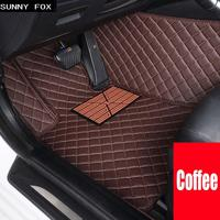 Car floor mats for Lexus NX 200 200T 300h NT200 NX200T NX300H F Sport RX waterproof car styling leather carpet rugs