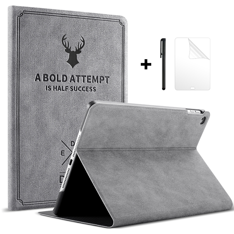 Case for iPad 9.7 2018 2017 5th Gen Funda Magnetic Stand PU Leather Smart Cover for iPad 6th Generation Case for iPad 2018 Case